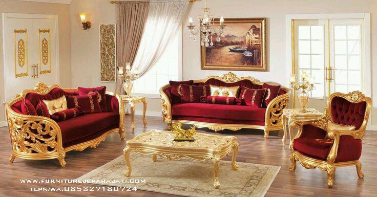 Kursi Tamu mewah Furniture Jati 26