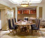 Meja Makan Ukir Jepara Klasik Modern Furniture