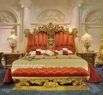 Set Tempat Tidur Italy Klasik Ukir Kayu Jepara