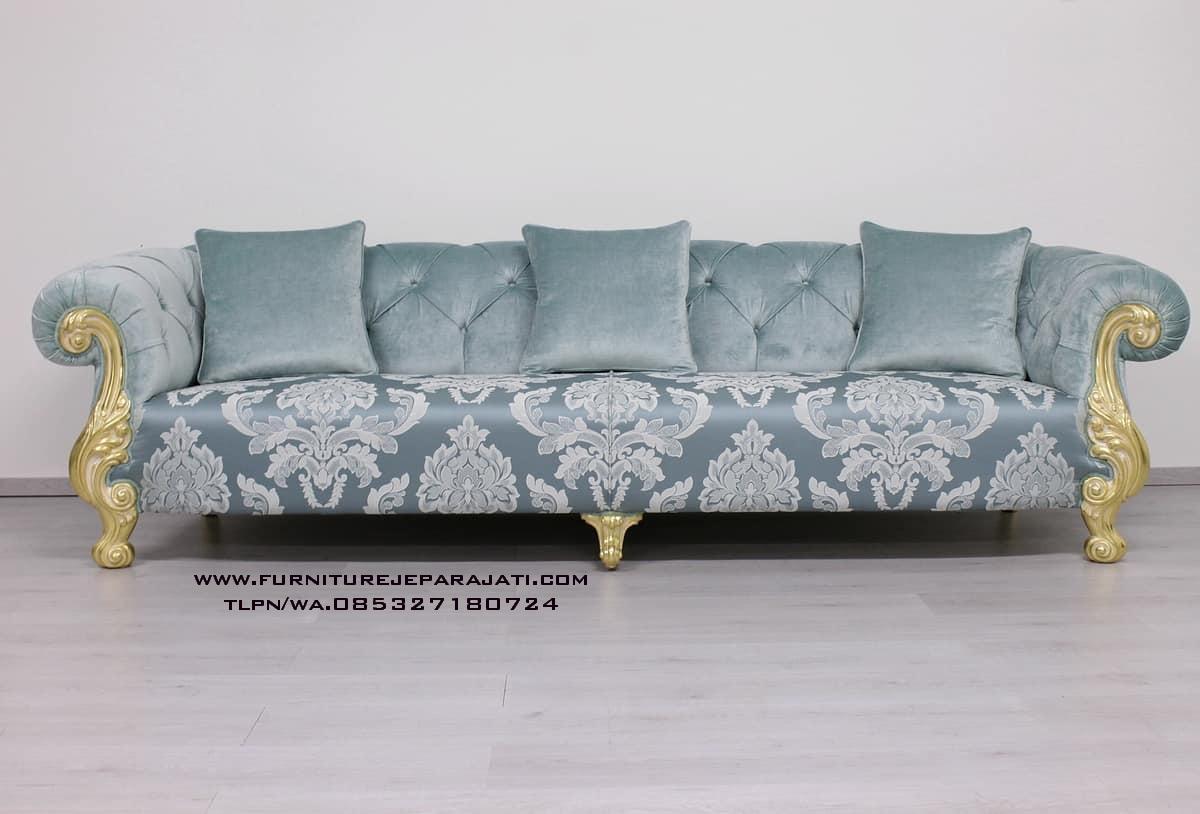 Sofa Clasic Oceano Ukiran Mewah