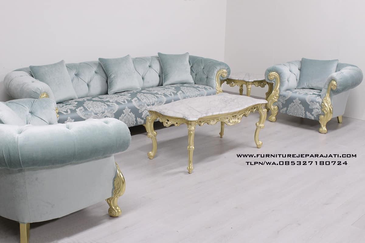 Sofa Tamu Luxury Clasic Oceano Ukiran Jepara