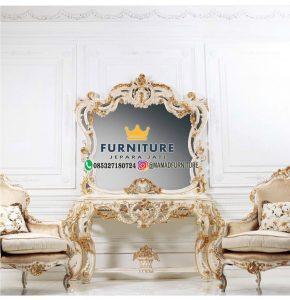 Meja Consolle Ukiran Mewah Furniture Jepara