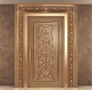 Pintu Ukiran Mewah Kombinasi Design Classic