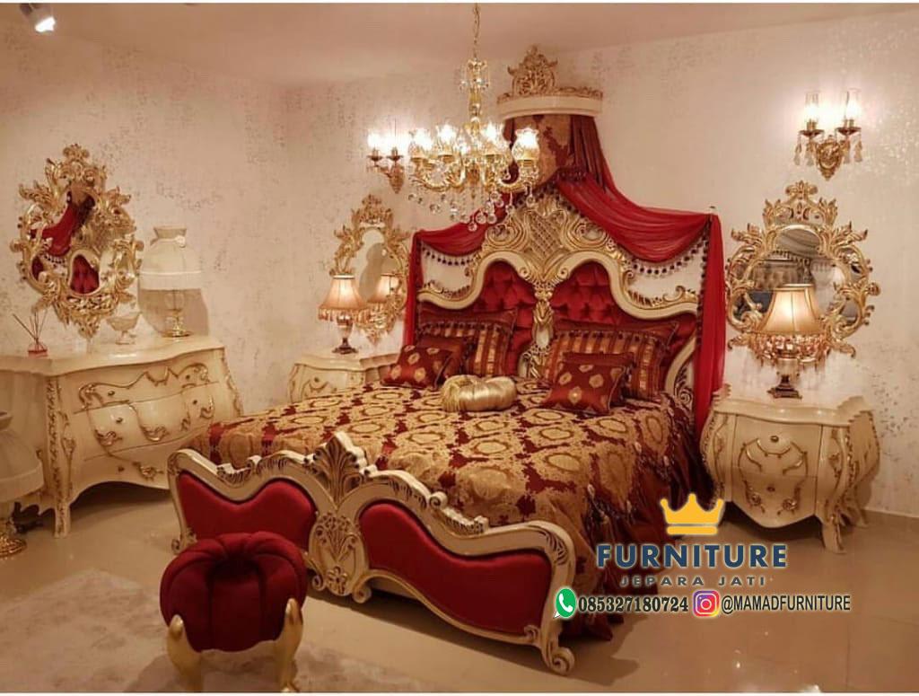 Set Kamar Tidur Mewah Arabic Design Modern