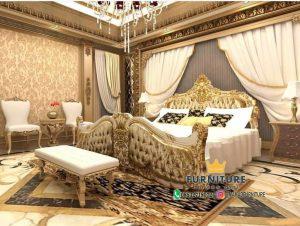 Set Kamar Tidur Mewah Kombinasi Layer Terbaru