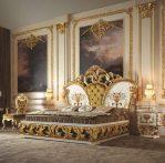 Set Kamar Tidur Ukiran Mewah Elegant Gold Duco