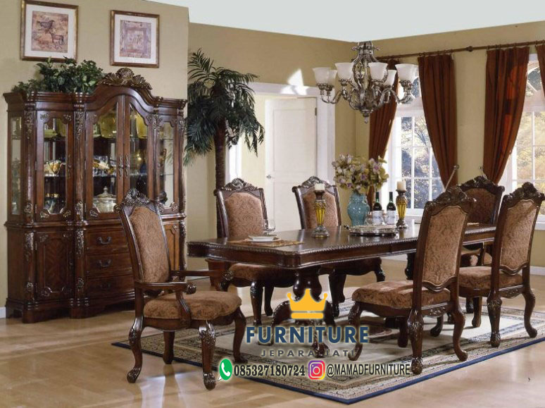 Set Meja Makan Classic Design