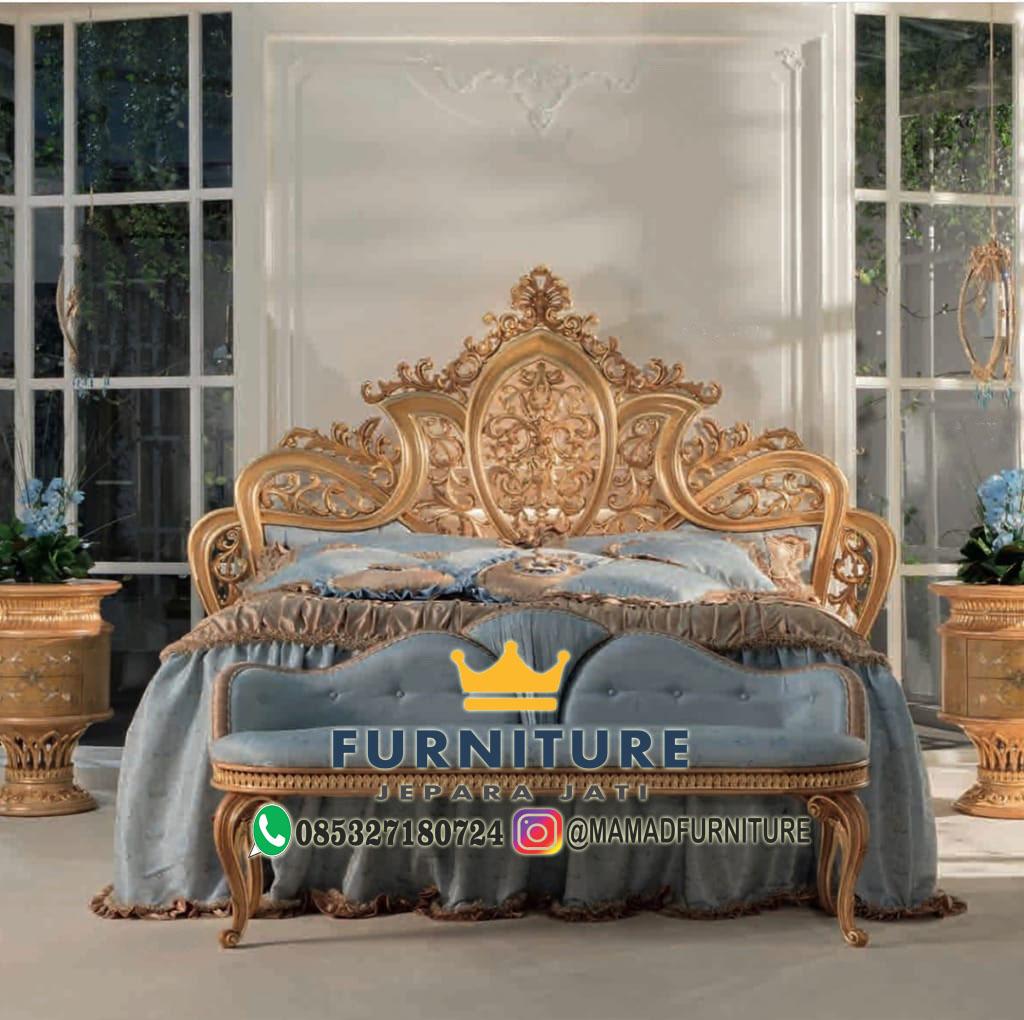 Set Tempat Tidur Antonia Dseign Klasik