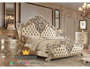 Set Tempat Tidur Cortina Ukiran Mewah Klasik