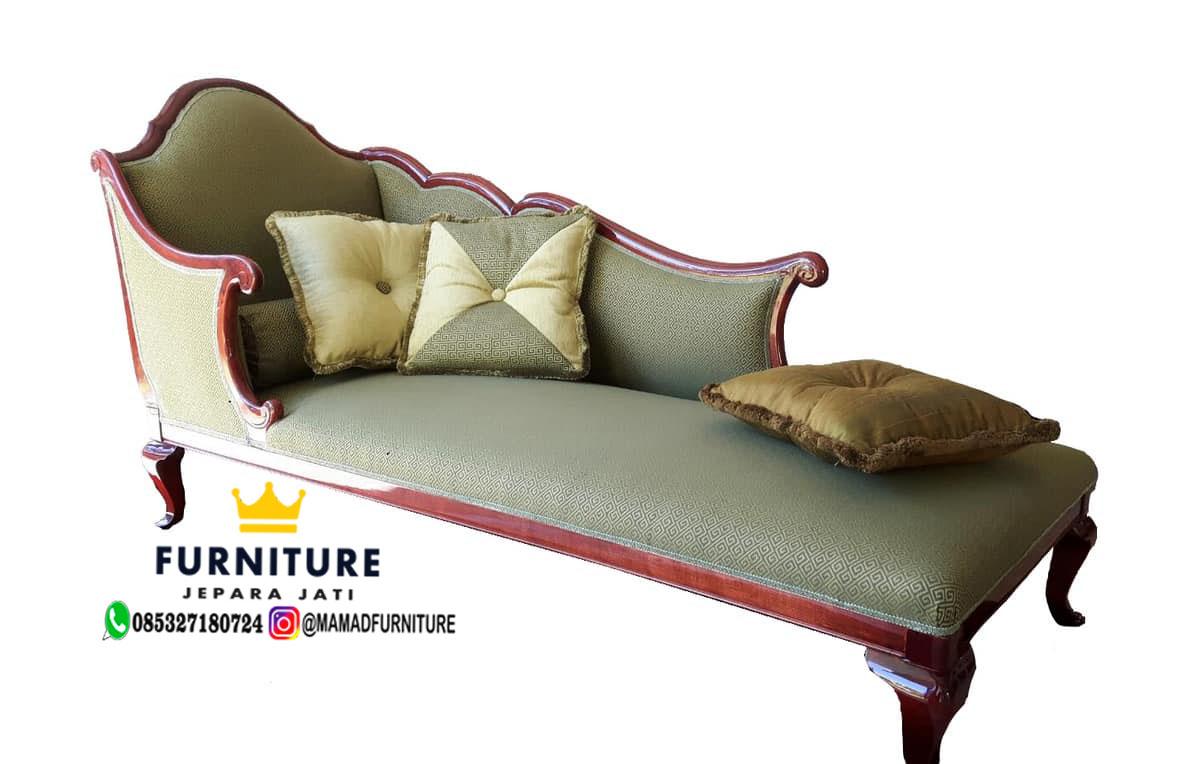Sofa Ruang Keluarga Minimalis Jati Jepara