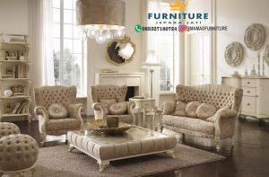 Sofa Ukiran Mewah Terbaru