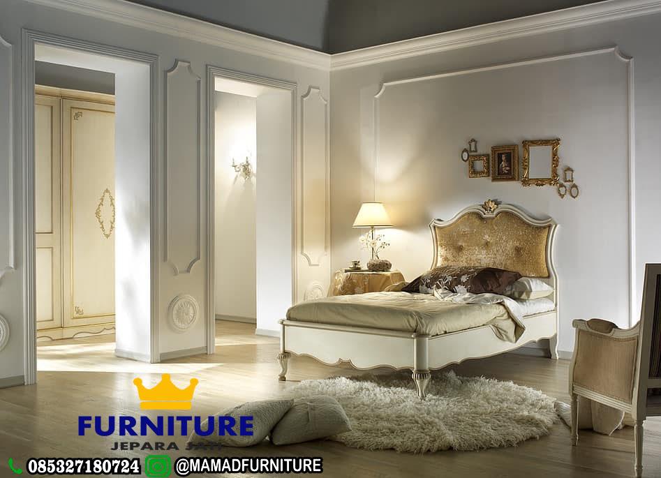 Tempat Tidur Anak Minimalis Cat Duco Jepara