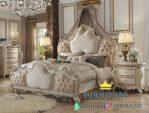 Tempat Tidur Mewah Alexadra Ukiran Klasik