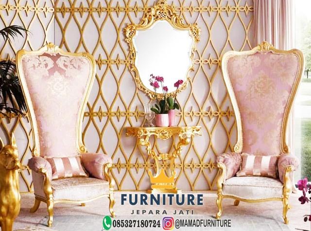 Kursi Sofa Santai Mewah Furniture Jepara Jati
