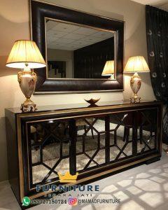 Meja Consolle Design Minimalis Furniture Jati