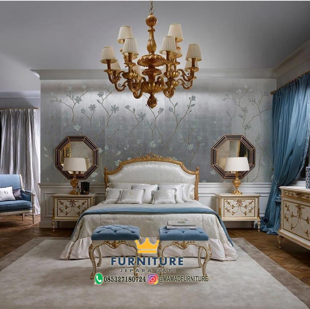 Set Kamar Tidur Ornamen Klasik