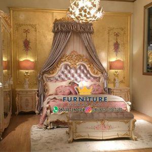 Set Kamar Tidur Ukiran Klasik Mewah Jepara