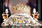 Set Kamar Tidur Ukiran Mewah Gold Leaf