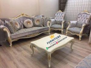 Set Sofa Minimalis Ukiran Klasik Jepara