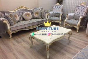Set Sofa Tamu Minimalis Furniture Jepara Jati