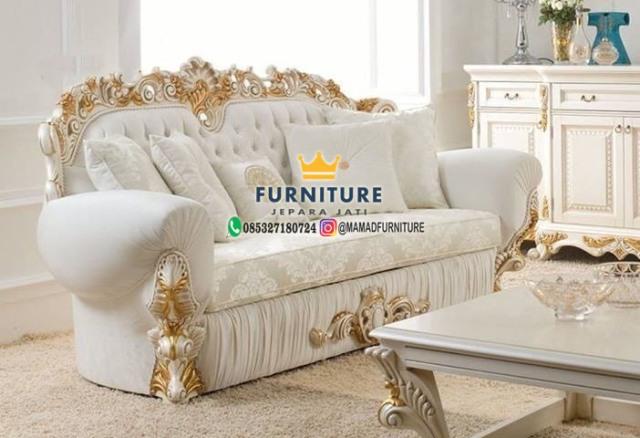 Sofa Klasik Mewah Furniture Jepara Jati