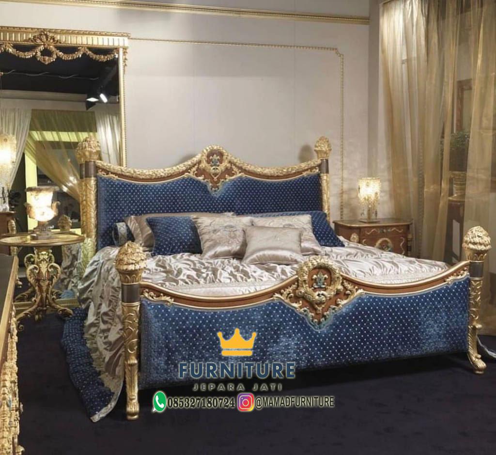 Tempat Tidur Odasi Mewah Jepara Jati