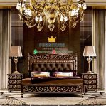 Tempat Tidur Ukiran Klasik Jati Furniture