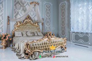 Tempat Tidur Ukiran Klasik Khas Jepara
