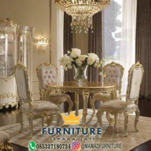 meja kursi makan furniture jepara jati