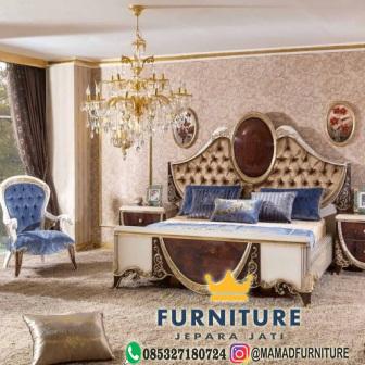 tempat tidur klasik furniture jepara jati